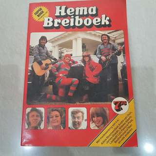 Buku panduan merajut / knitting - Hema Breiboek