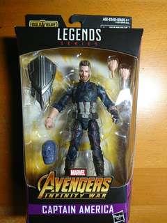 (Rare Variant) Marvel Legends Avengers Infinity War Captain America