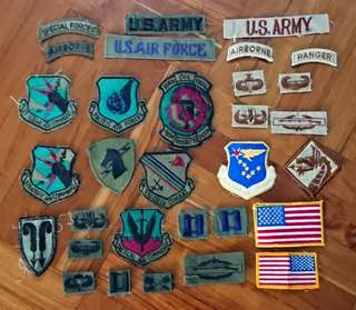 美軍 制服布章 US Army Uniform Badges