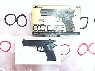 1980s 日製 Smith & Wesson  M645