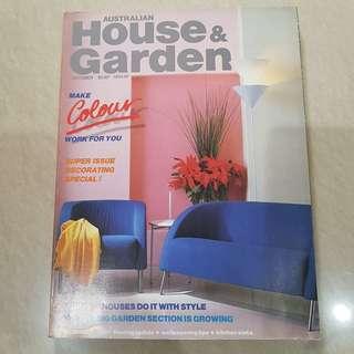 Majalah Australian House & Garden edisi October 1986