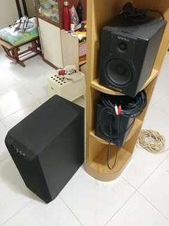 Speaker + Subwoofer combo
