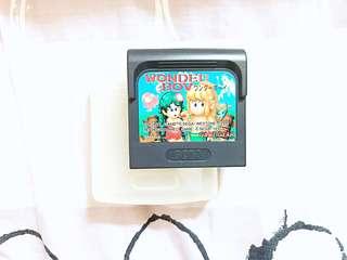 1990 中古 SEGA Game Gear 帶