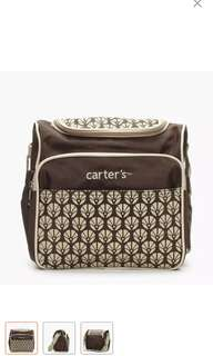Carters Square Diaper Bag (BROWN )