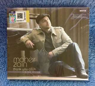 Maher Zain - Thank You Allah Limited Edition CD
