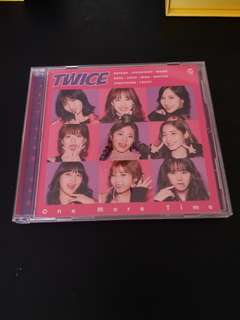 Twice one more time日專 送全新未開封海報