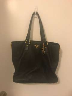 Prada Bag with Chain Accesory