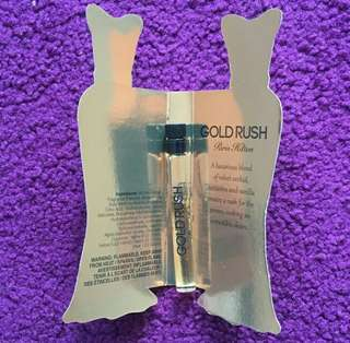 Parfum Gold Rush