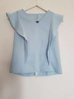 #SALE73#Top baby blue