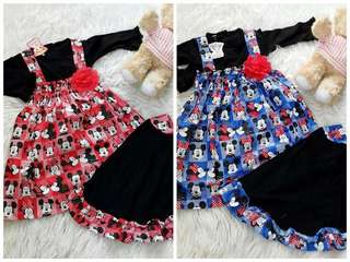 Girl Moslem Clothes Mickey Minnie Square