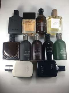 Zara series for men