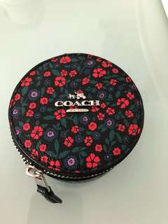 Coach 99% new coin bag