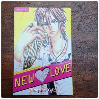 Komik One Shot - New Love - Yuuhi Ryu
