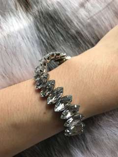 Diamond bracelet H&M