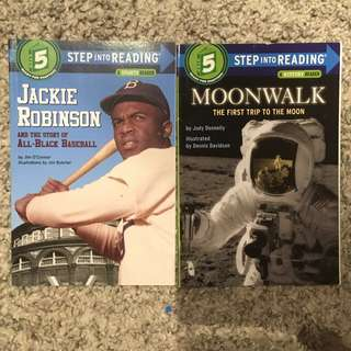 Step Into Reading Level 5. Jackie Robinsons and Moonwalk