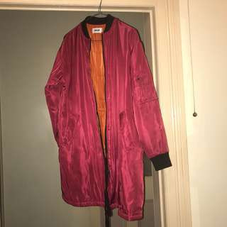 Bomber coat / jacket quilted NEW
