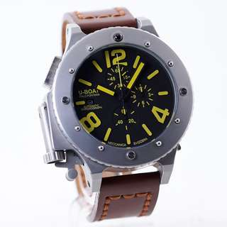 Jam Tangan U-BOAT U-42 Chrono 53mm KW Super
