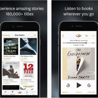 1 Audiobook from Audible ( MP3/M4B Format )