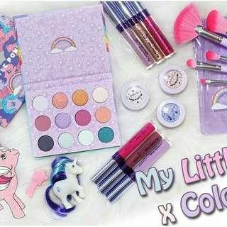 Eyeshadow palette colourpop pony