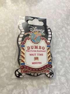 迪士尼襟章 迪士尼徽章 dumbo小飛象 Le pin