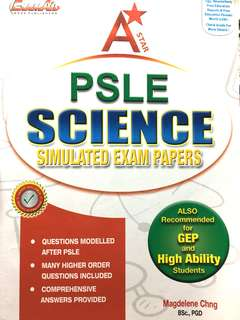 psle science simulated exam papers