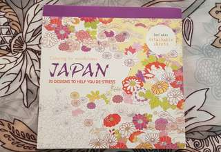 Coloring Books for Adults - Japan