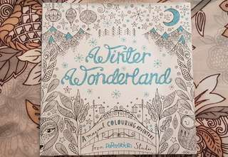 Winter Wonderland - Adult Coloring Book