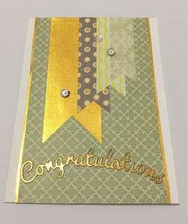 Handmade-Congratulation Card