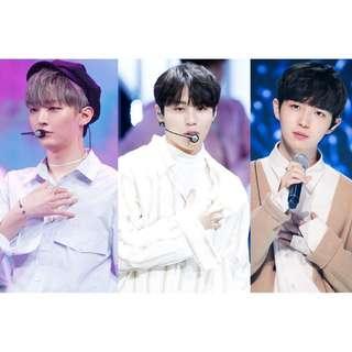 [SHARING] Wanna one sungwoon Jisung Jaehwan Jihoon woojin Comeback w1 PCs