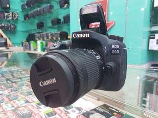 Canon EOS 80D Datascript