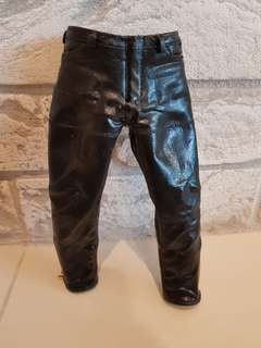 1/6 scale leather pants hot toys mms117 terminator