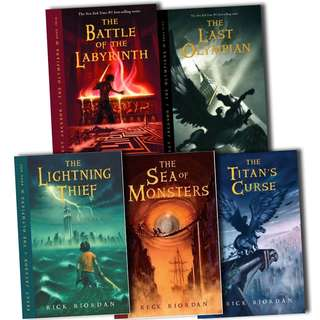 Percy Jackson and the Olympians Complete Collection 5 Audiobooks