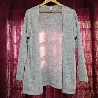Gray Cardigan (fits medium to large frames)