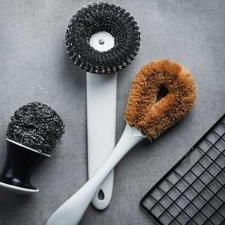 PO Kitchen Dishes Equipment Brush Cleaning Set of 3