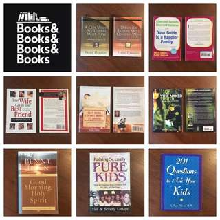 Various Books on Leadership / Parenting / Christian / Psychology / Self-Help / Teenage