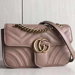 Gucci GG Marmont Matelasse Shoulder Bag 22/26