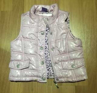 Pumpkin Patch sleeveless winter jacket