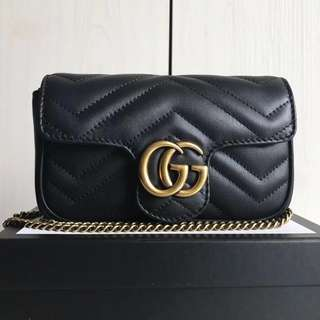 Gucci Marmont Matelasse Super Mini
