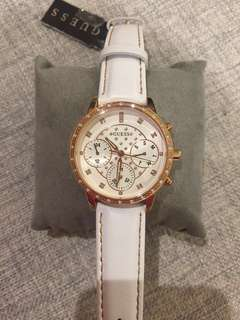 Guess watch (white and gold color)