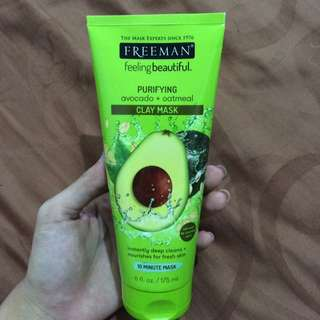 Freeman purifying avocado & oatmeal clay mask