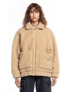 I Am Gia (inspired) teddy coat - caramel colour