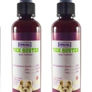 Tick Buster(Fipronil) Spray Treatment Anti-Garapata 100ml Set of 2