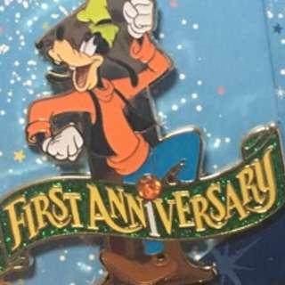 迪士尼襟章 迪士尼徽章 高飛 Goofy Peter Pan Disney pins