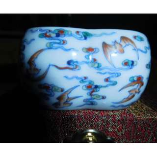 Qing Dynasty Bird Cup/rare