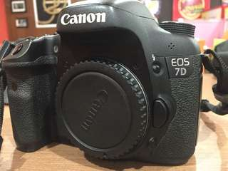 Dijual canon eos 7d Body only 95%