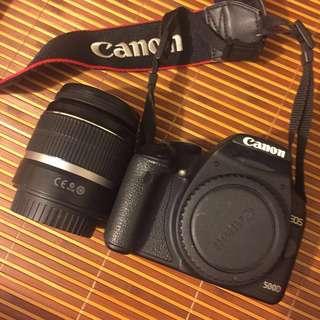 Canon 500D 18-55mm kit set