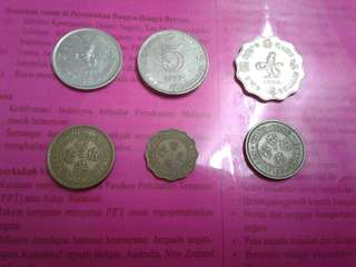 Duit Syiling Lama/Old coins