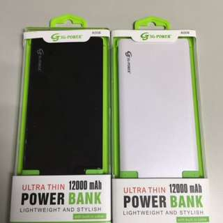 12,000mAh Ultra Slim Powerbank
