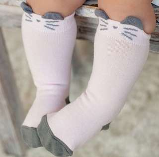 Meow Socks for Baby