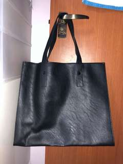 H&M Leather Tote Bag